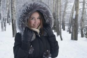 kurtka puchowa zima