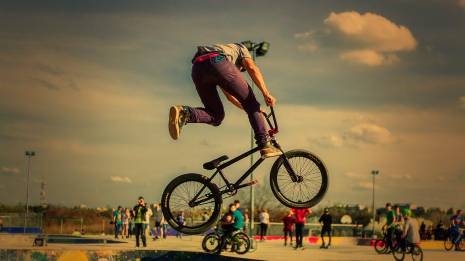 fitness na rowerze